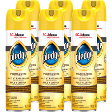 Pledge Lemon Enhancing Polish Spray 142