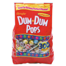 Dum Dums Bag Of 300 Lollipops