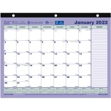 Brownline Monthly Desk Pad Calendar 11