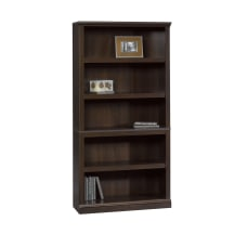 Sauder Select Bookcase 5 Shelf Cinnamon