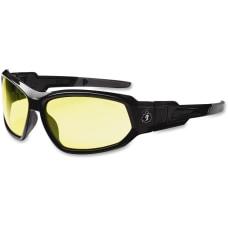 Ergodyne Loki Yellow Lens Safety Glasses