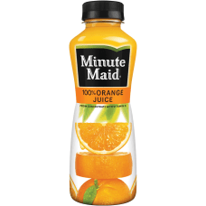 Minute Maid Orange Juice 12 Oz