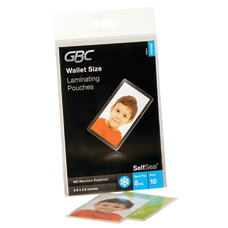 GBC SelfSeal Laminating Sheets Card 388