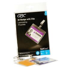 Swingline GBC SelfSeal Self Adhesive Laminating