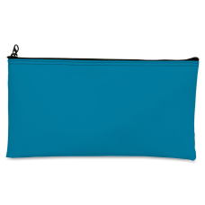 Zipper Top Wallet Blue