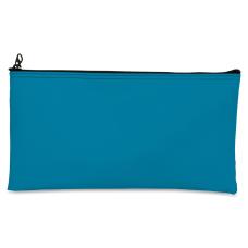 Zipper Top Wallet Blue
