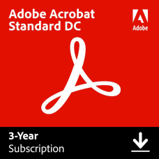 Adobe Acrobat Standard DC 3 Year