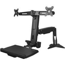 StarTechcom Sit Stand Dual Monitor Arm