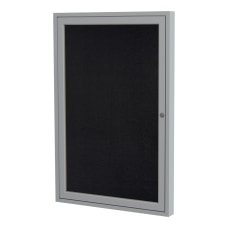 Ghent 1 Door Enclosed Recycled Rubber