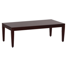 Lorell Solid Wood Coffee Table Mahogany
