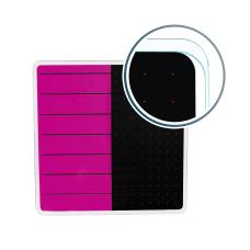 Floortex Viztex Glacier Dry Erase Board