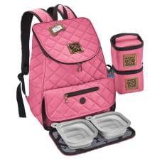 Overland Dog Gear Weekender Backpack Pink