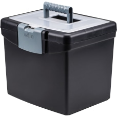 Storex Portable Storage Box External Dimensions