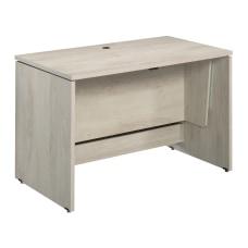 Sauder Select SitStand Desk Chalked Chestnut