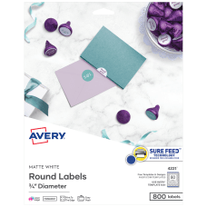 Avery Print to the Edge Labels