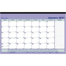 Brownline Magnetic Calendar Monthly 1 Year