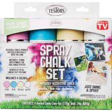 Testors 4 Color Washable Spray Chalk