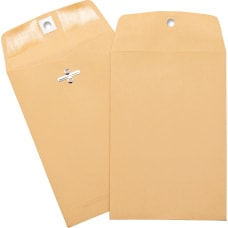 Business Source Heavy duty Clasp Envelopes