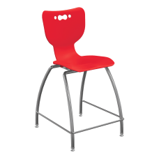 Hierarchy 4 Leg School Stool 30