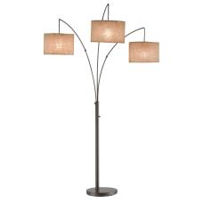 Adesso Trinity Arc Floor Lamp 74