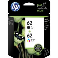 HP 62 BlackTricolor Ink Cartridges N9H64FN