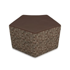 OFM Quin Series Stool BrownCopper