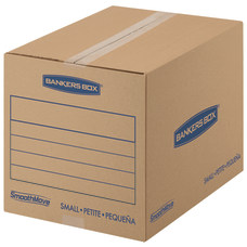 Bankers Storage Box SmoothMove Corrugate Basic