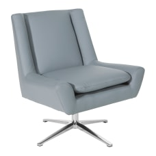 Office Star Faux Leather Guest Chair