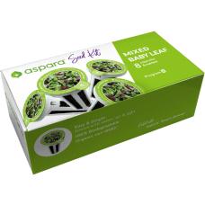 Aspara Mixed Baby Leaf Seed Kit