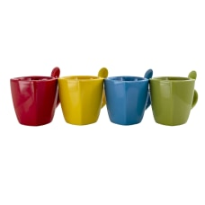 Gibson Home Primary Colors Stoneware Soft