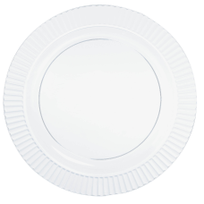 Amscan Plastic Plates 7 12 Clear