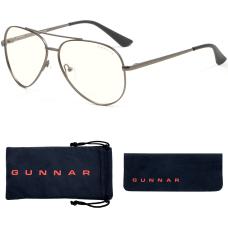 GUNNAR Gaming Computer Glasses Maverick Gunmetal