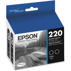 Epson DuraBrite Ultra Ink T220 Black