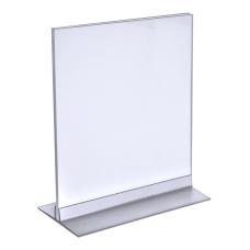 Azar Displays Acrylic VerticalHorizontal T Strip