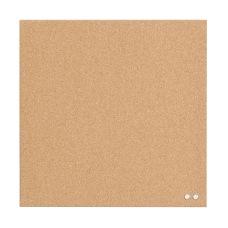 U Brands Frameless Cork Canvas Bulletin