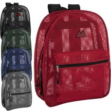 Trailmaker Mesh Backpacks Assorted Colors Pack