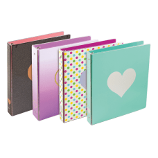 Divoga Hearts 3 Ring Binder 1