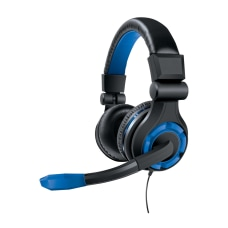 DreamGear PS4 Wired Gaming Headset Blue