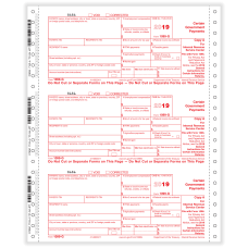 ComplyRight 1099 G Tax Forms Continuous