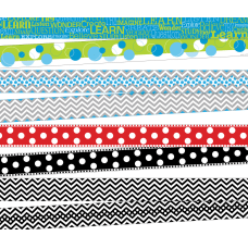 Barker Creek ChevronDots Double Sided Borders