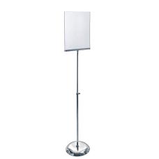 Azar Displays Vertical Pedestal Sign Holder
