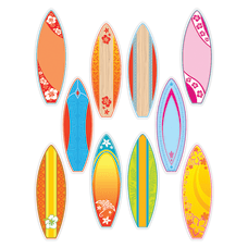 Teacher Created Resources Decorative Accents Surfboards