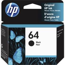 HP 64 Black Ink Cartridge N9J90AN