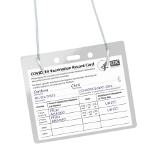 Avery Hanging Style Vaccine Card Holder