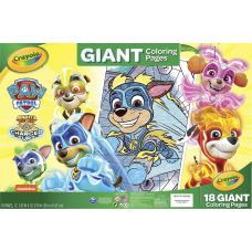 Crayola Nickelodeons Paw Patrol Giant Pages