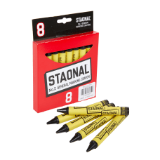 Crayola Staonal Marking Crayons 5 Black