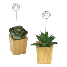 Office Depot Photo Holders With Succulents