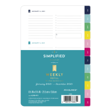 Emily Ley Simplified System Weekly Refill