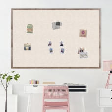 U Brands Linen Bulletin Board 72