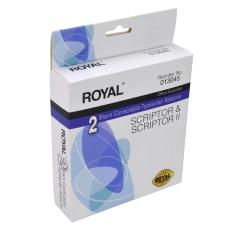 Royal Correctable Typewriter Ribbons Black 013045